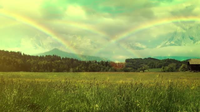 Rainbows en la pradera