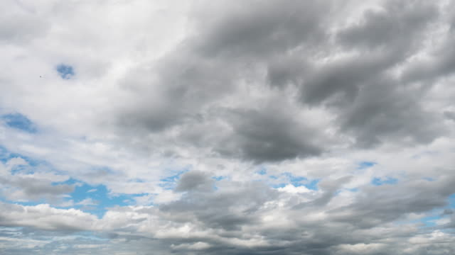 Rainclouds moving Time lapse.