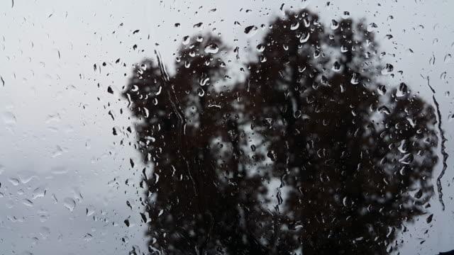 raindrops on the window - splashing droplet stock videos & royalty-free footage