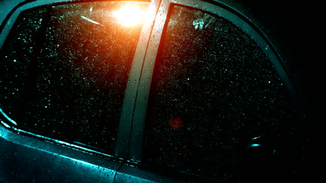 rainfall on car - drenched stock videos & royalty-free footage