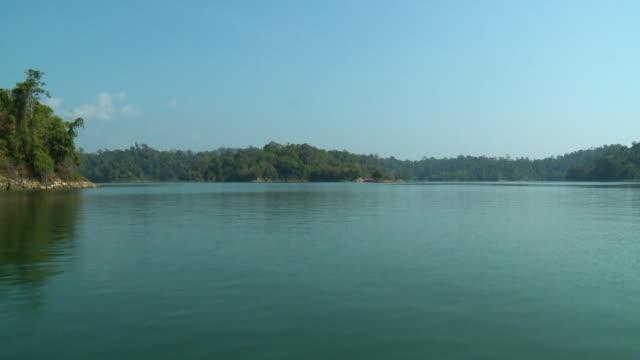 rainforest  islands, temenggor lake, perak - push in stock videos & royalty-free footage
