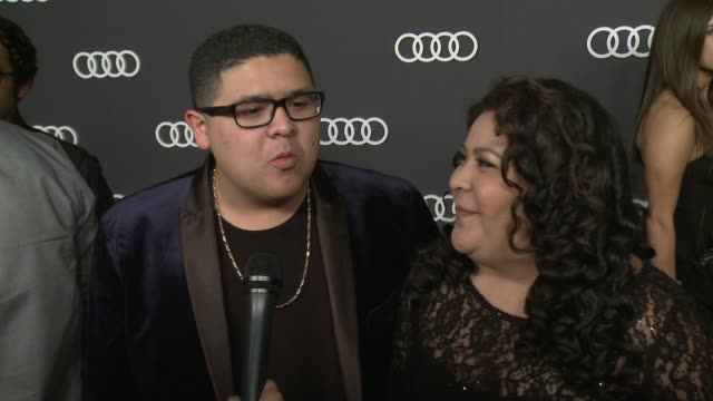 INTERVIEW Raini Rodriguez and Rico Rodriguez on this Audi preEmmy event has been the favorite way for Hollywood to kickoff Emmy's week for seven...