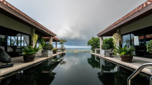 stockvideo's en b-roll-footage met regent op villa time-lapse 4k - verblijfsoord