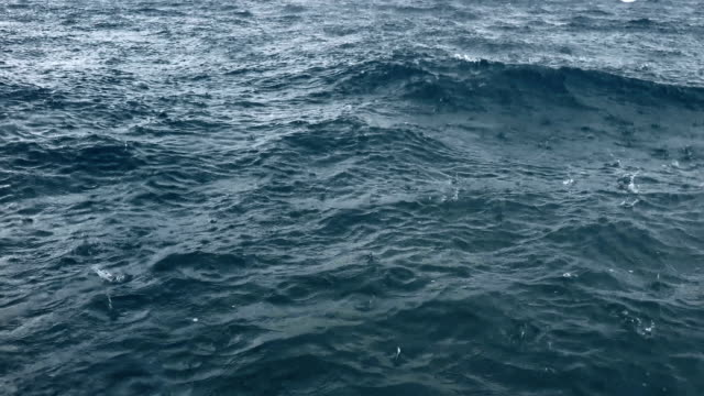 raining on deep sea surface - mediterranean sea stock videos & royalty-free footage