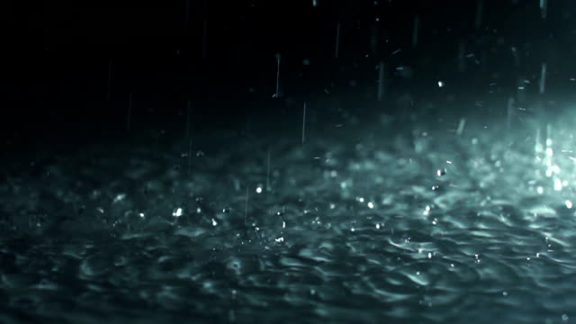raining (super slow motion) - rain stock videos & royalty-free footage
