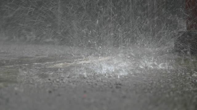 raining - torrential rain stock videos & royalty-free footage
