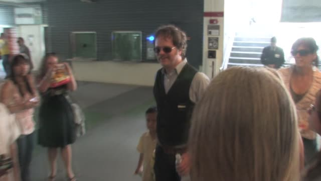 Rainn Wilson leaving the Despicable Me Premiere After Party at the Celebrity Sightings in Los Angeles at Los Angeles CA