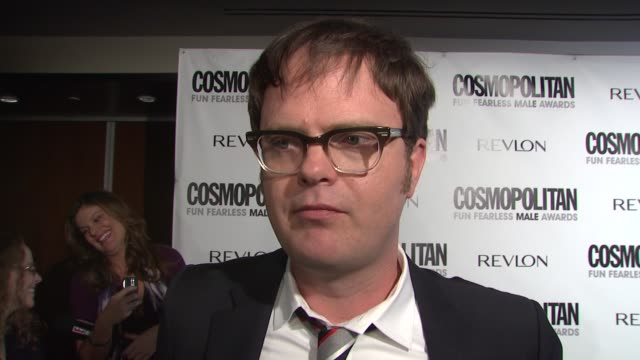 Rainn Wilson on being honored what risks he has taken in his career and how he reads Cosmo for the perfume ads at the Cosmopolitan Honors its Fun...