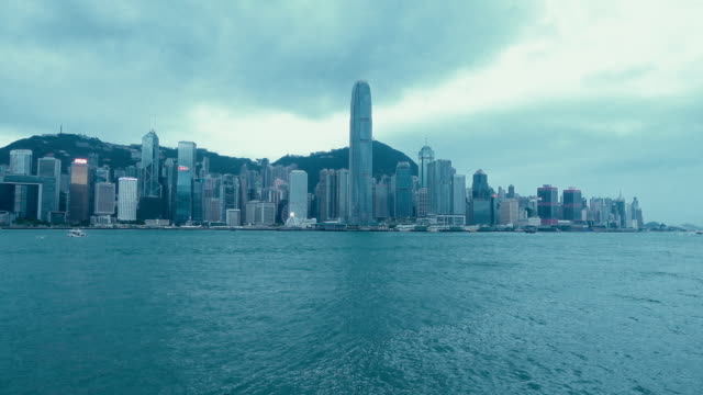 Rainstorm is coming in Hong Kong