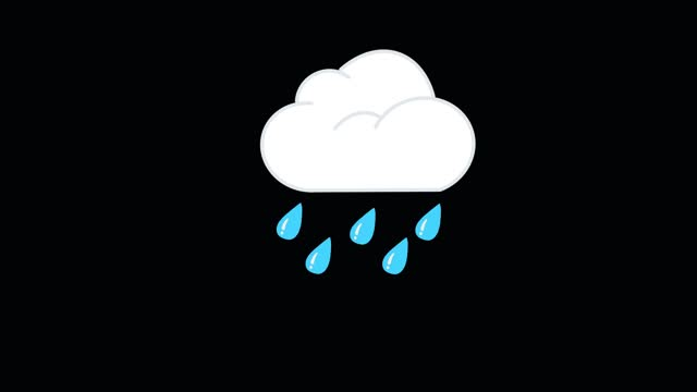 rainy cloud animation - collection stock videos & royalty-free footage