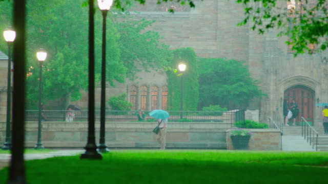 rainy day - ニューヘイブン点の映像素材/bロール