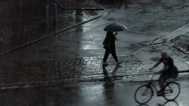 rainy days - denmark stock videos & royalty-free footage