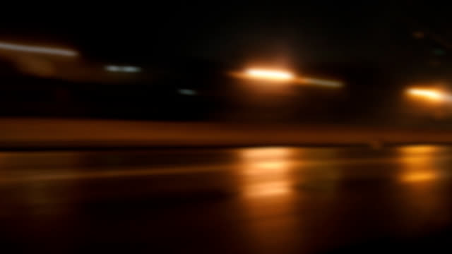 rainy driving abstract - soft focus stock videos & royalty-free footage