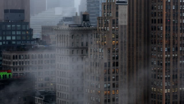 rainy new york city - tribeca stock videos & royalty-free footage