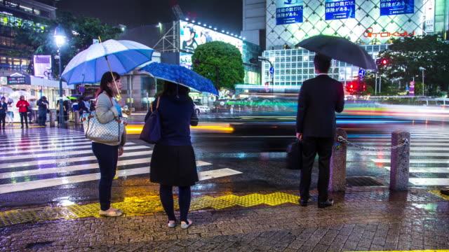Rainy Night at Shibuya Scramble - Motion T/L