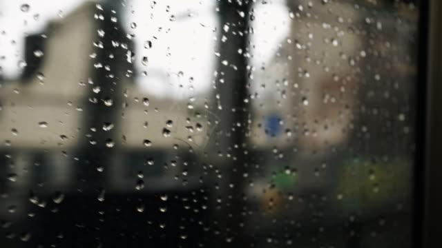 vídeos y material grabado en eventos de stock de rainy subway car - perspectiva desde un tren