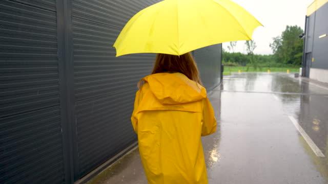 雨天 - レインコート点の映像素材/bロール