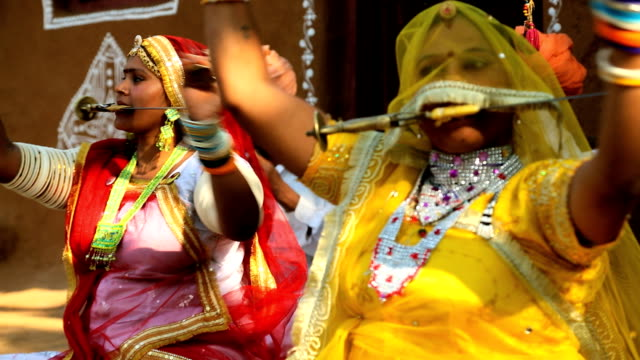 Rajasthan Udaipur India music local singing female group
