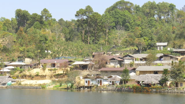 rak thai village, mae hong sorn, thailand - thai ethnicity stock videos & royalty-free footage