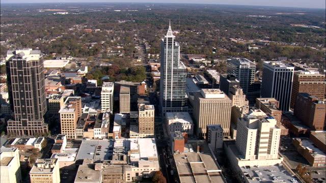 ローリー - 空中写真 - ノースカロライナ州ウェイク郡、アメリカ合衆国 - ノースカロライナ州点の映像素材/bロール