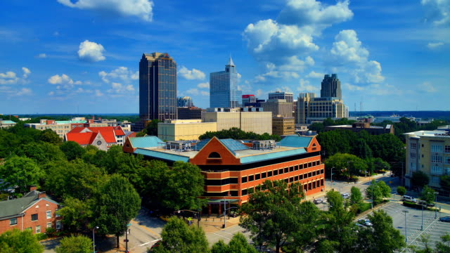 raleigh, nc day time lapse - charlotte north carolina stock videos & royalty-free footage