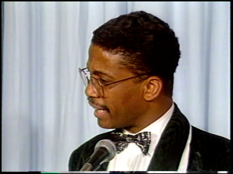 ralph belamy at the 1987 academy awards at dorothy chandler pavilion in los angeles california on march 30 1987 - dorothy chandler pavilion stock videos and b-roll footage