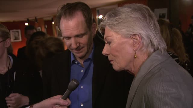 Ralph Fiennes and Vanessa Redgrave at Coriolanus Special Screening at The Curzon Mayfair on January 5 2012 in London England