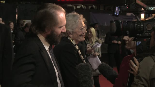 Ralph Fiennes and Vanessa Redgrave at the Coriolanus Gala Premiere 55th London Film Festival at London England