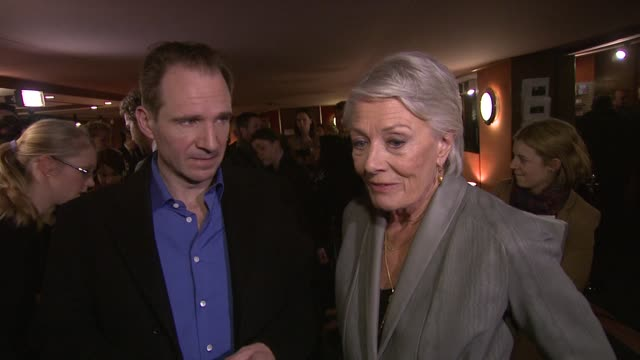 Ralph Fiennes and Vanessa Redgrave on the inspiration adapting the story for a modern time Coriolanus Special Screening at The Curzon Mayfair on...