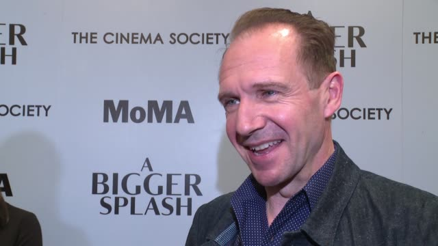 INTERVIEW Ralph Fiennes on his character Harry On what was appealing to him about this film On playing a very different role than before on wanting...