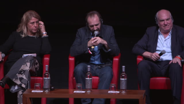 ralph fiennes on the film being a watershed in his life at 'the english patient - il paziente inglese' press conference - 11th rome film festival... - the english patient点の映像素材/bロール