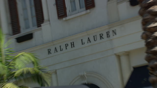 Ralph Lauren shop front on Rodeo Drive / Beverly Hills, California, United States
