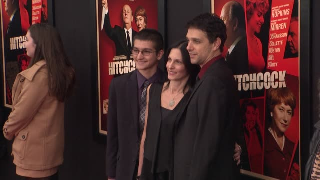 Ralph Macchio and guests at Hitchcock Premiere at Ziegfeld Theatre on November 18 2012 in New York New York