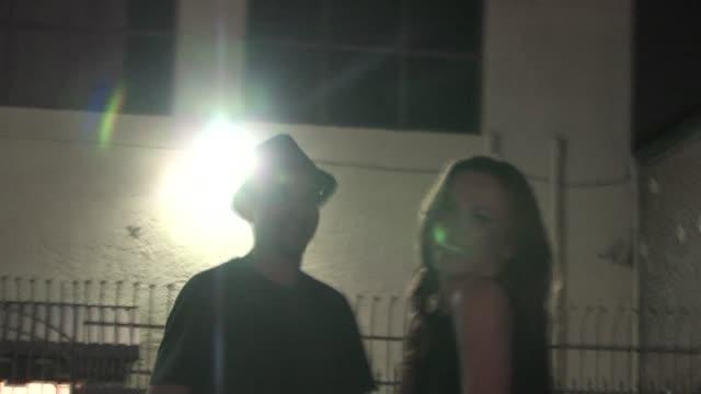 ralph macchio and karina smirnoff in hollywood on - karina smirnoff stock videos & royalty-free footage
