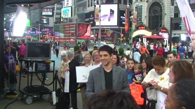 Ralph Macchio at Good Morning America in New York 09/28/11