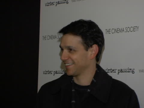 Ralph Macchio at the Winter Passing New York Premiere at Tribeca Grand Screening Room in New York City New York