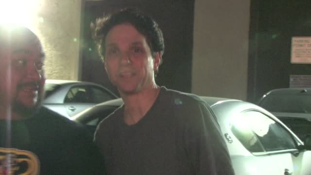 Ralph Macchio in Hollywood