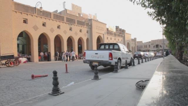 ramadan in erbil - isil konflikt stock-videos und b-roll-filmmaterial