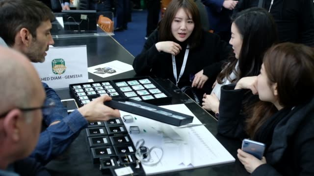 Hundreds of Israeli diamond companies offering both loose diamonds and diamond jewelry and Diamond buyers from more than 30 countries around the...