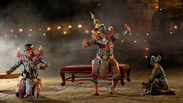 KHON THAI Ramayana story of Thailand.