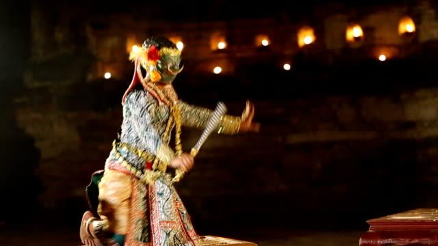 KHON THAI Ramayana story