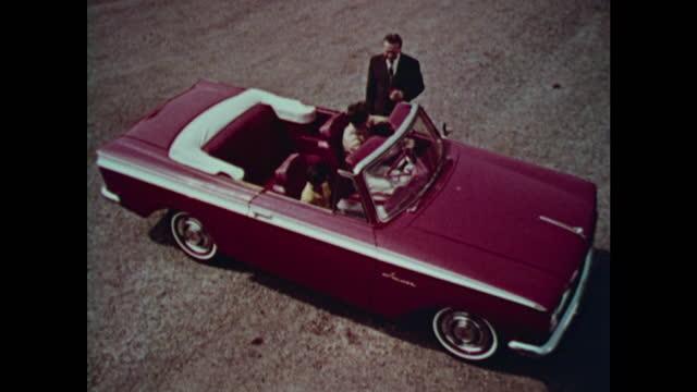 1963 amc rambler american montage - 1963 stock videos & royalty-free footage