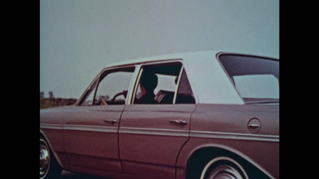 1963 amc rambler classic montage - 1963 stock videos & royalty-free footage