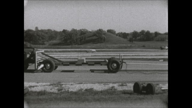 1969 amc rambler rear impact crash test - crash test stock videos & royalty-free footage