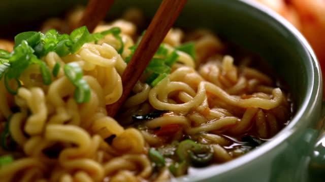 ramen - ramen noodles stock videos & royalty-free footage