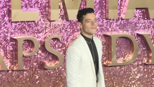 Rami Malek at Bohemian Rhapsody World Premiere at Wembley Arena on October 23 2018 in London England