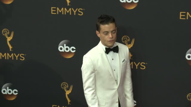 Rami Malek at the 68th Annual Primetime Emmy Awards Arrivals at Microsoft Theater on September 18 2016 in Los Angeles California