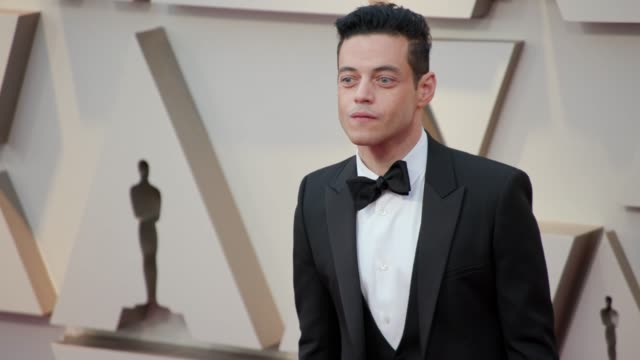 Rami Malek at the 91st Academy Awards Arrivals at Dolby Theatre on February 24 2019 in Hollywood California