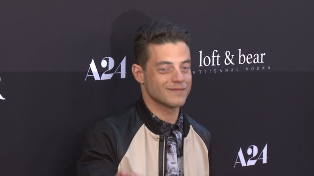 rami malek at the rover los angeles premiere at regency bruin theatre on june 12 2014 in los angeles california - regency style stock videos and b-roll footage
