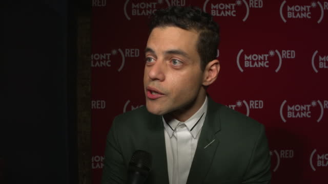 INTERVIEW Rami Malek on playing Freddie Mercury in a film and how his loss to AIDS was tragic on RED proceeds helping the cause on his feelings...